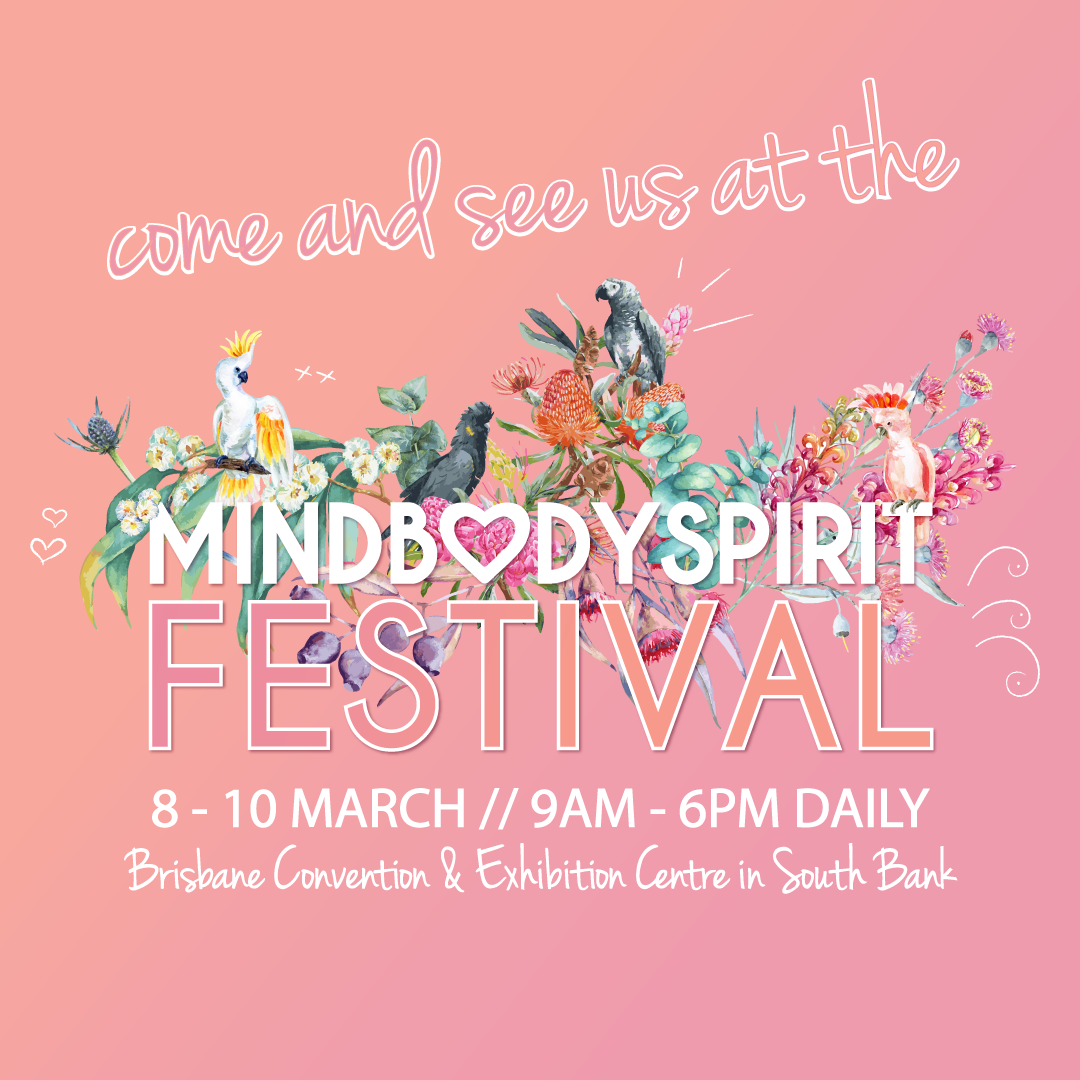 Mind Body Spirit Festival invitation